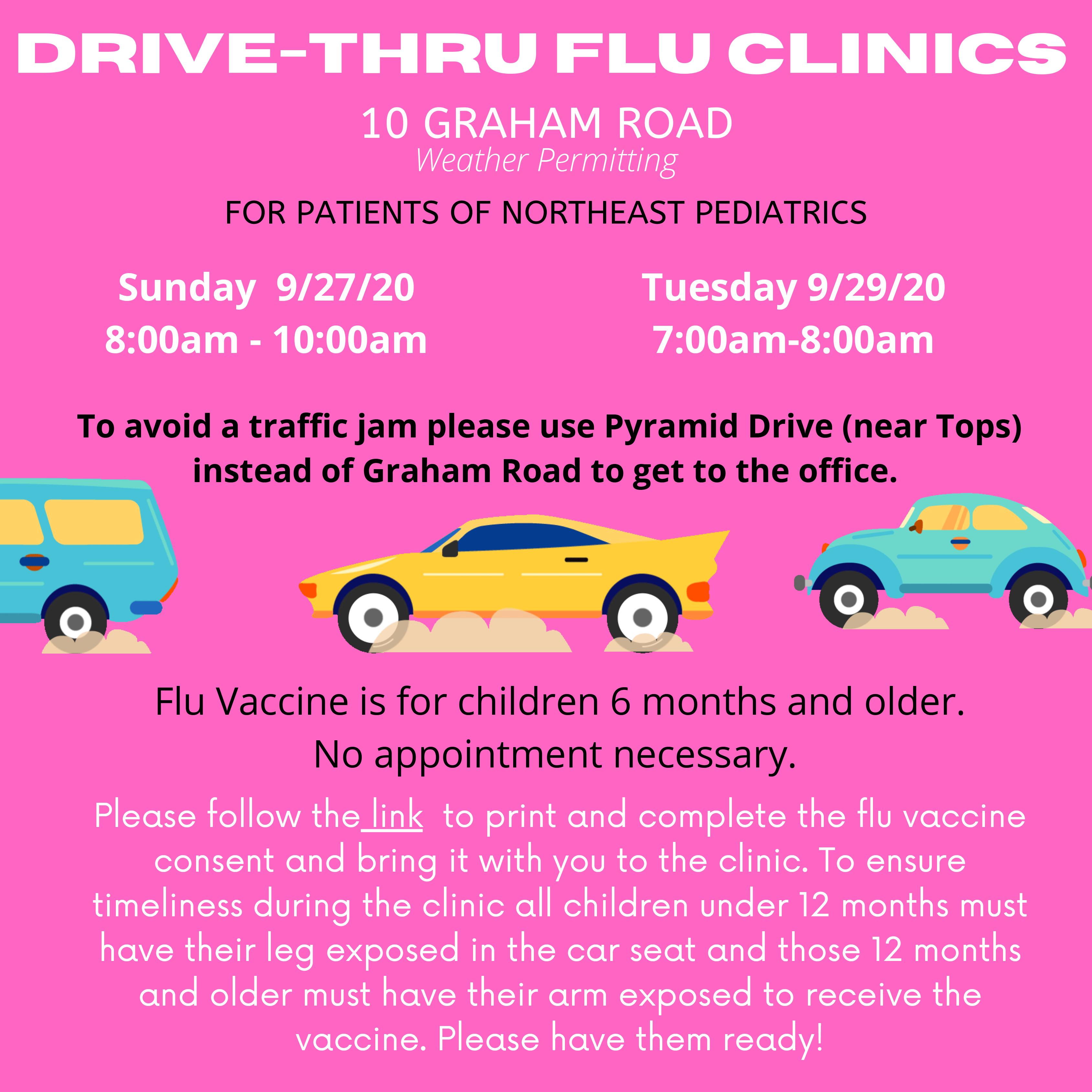 drive thru flu late september - Home
